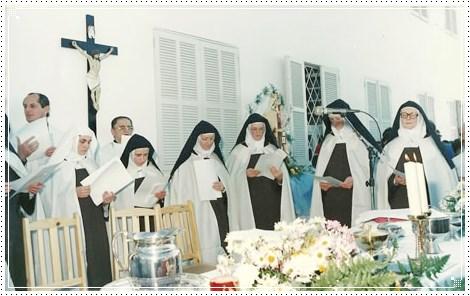 Missa de inauguração do Carmelo Cristo Redentor (SC)